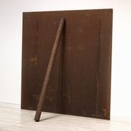 Image: Richard Serra Plate pole prop 1969, 1983, Art Gallery of New South Wales © Richard Serra. ARS/Licensed by Viscopy, Sydney