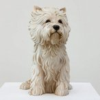 Image: Jeff Koons White terrier 1991 Art Gallery of New South Wales Gift of the John Kaldor Family Collection 2011. Donated through the Australian Government's Cultural Gifts Program.© Jeff Koons