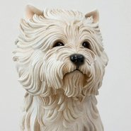 Image: Jeff Koons White terrier 1991  Art Gallery of New South Wales Gift of the John Kaldor Family Collection 2011. Donated through the Australian Government's Cultural Gifts Program.  © Jeff Koons