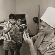 Image: Mervyn Bishop Far West Children's health clinic, Manly 1968 (detail), Art Gallery of New South Wales © Mervyn Bishop