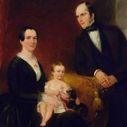 Image: Marshall Claxton The Dickinson family 1851 (detail)