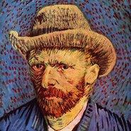 Image: Vincent van Gogh Self portrait with hat 1887–88 (detail), Van Gogh Museum, Netherlands