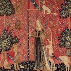Image: Touch c1500 (detail) from the series The lady and the unicorn, Musée de Cluny – Musée national du Moyen Âge, Paris. Photo © RMN-GP / Musée de Cluny – Musée national du Moyen Âge / M Urtado