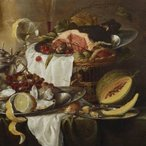 Image: Laurens Craen Still life with imaginary view c1645-c1650 (detail), Art Gallery of New South Wales