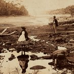 Image: Unknown photographer Australian scenery, Middle Harbour, Port Jackson c1865 (detail) carte de visite, 5.8 × 8.6 cm, Art Gallery of NSW, gift of Josef & Jeanne Lebovic, Sydney 2014
