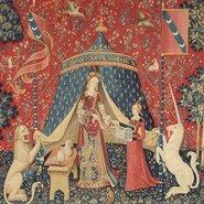 Image: My sole desire c1500 (detail) from the series The lady and the unicorn, Musée de Cluny – Musée national du Moyen Âge, Paris. Photo © RMN-GP / Musée de Cluny – Musée national du Moyen Âge / M Urtado
