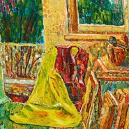 Image: Grace Cossington Smith The window 1956 (detail) © Estate of Grace Cossington Smith