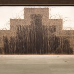 Image: Installation view of Richard Long Southern gravity , 2011 in the exhibition Unpainting