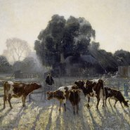 Image: Elioth Gruner Spring frost 1919 (detail)