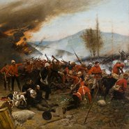 Image: Alphonse de Neuville The defence of Rorke's Drift 1879 1880 (detail)