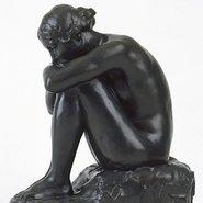 Image: Bertram Mackennal Sappho c1909 (detail), Art Gallery of NSW collection
