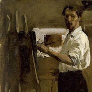 Image: Hugh Ramsay Artist in studio 1901-02 (detail), Art Gallery of New South Wales