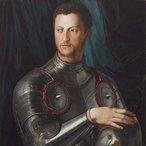 Image: Agnolo Bronzino Cosimo I de'Medici in armour 1540s (detail)