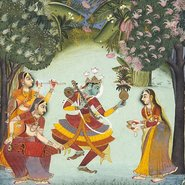 Image: Bundi School Vasant ragini c1770 (detail), Art Gallery of New South Wales