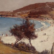 Image: Tom Roberts Holiday sketch at Coogee 1888 (detail)