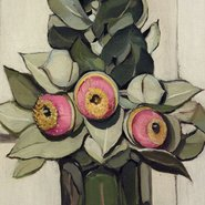 Image: Margaret Preston Western Australian gum blossom 1928 (detail), Art Gallery of New South Wales © Margaret Rose Preston Estate, licensed by Viscopy, Sydney
