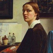 Image: Nora Heysen Self portrait 1932 (detail) Gift of Howard Hinton 1932 © Lou Klepac