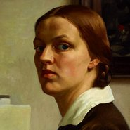 Image: Nora Heysen Self portrait 1932 (detail) © Lou Klepac