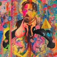 Image: David Griggs TV Moore 2013 (detail), Archibald Prize 2013 finalist