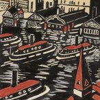 Image: Margaret Preston Circular Quay 1925 (detail)