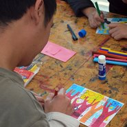 Image: Children's access workshop, Art Gallery of NSW 2019.