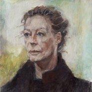 Image: Mariola Smarzak Wendy 2014 (detail), Archibald Prize 2014 finalist