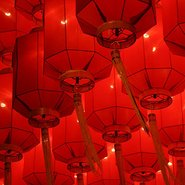 Image: Chinese lanterns. Courtesy Claudia Chan Shaw