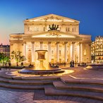 Image: Bolshoi Theatre, Moscow, Russia.