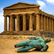 Image: Valley of the Temples, Agrigento, Sicily