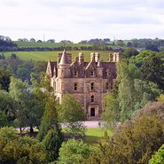 Image: Blarney House, County Cork, Ireland, seen from Blarney Castle.