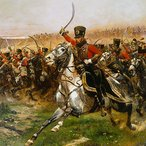 Image: Edouard Detaille Vive L'Empereur! 1891 (detail) Art Gallery of New South Wales collection