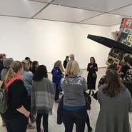 Image: Auslan tour at the Art Gallery of New South Wales
