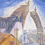 Image: Grace Cossington Smith The bridge in-curve 1930 (detail), National Gallery of Victoria