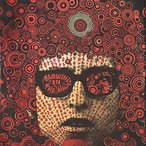Image: Martin Sharp Mister Tambourine Man 1967 (detail), two-colour screenprint, 75.4 × 49.8 cm, Art Gallery of NSW