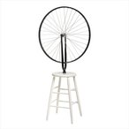 Image: Marcel Duchamp Bicycle wheel 1964 (replica of 1913 original), Philadelphia Museum of Art, gift of Galleria Schwarz d'Arte, Milan, 1964-175-1 © Association Marcel Duchamp/ADAGP. Copyright Agency, 2019