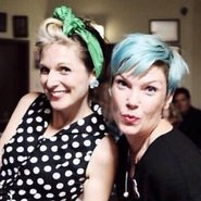 Image caption: Sue Wright and Danni Wright