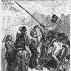 Image: Gustave Dore Don Quijote and Princess Micomicona 1880. Courtesy of Shutterstock.com