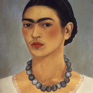 Image: Frida Kahlo Self-portrait with necklace 1933 (detail), The Jacques and Natasha Gelman Collection of Mexican Art © 2016 Banco de Mexico Diego Rivera Frida Kahlo Museums Trust, Mexico DF