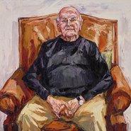 Image: Nicholas Harding John Olsen AO, OBE (detail), Archibald Prize 2017 finalist