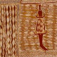 Image: Munggurrawuy Yunupingu Lany'tjung story no 3 1959 (detail) © Estate of Munggurrawuy Yunupingu. licensed by Viscopy, Sydney