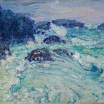 Image: John Russell Rough sea, Morestil c1900 (detail), Art Gallery of New South Wales