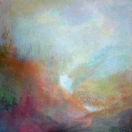 Image: Juliet Holmes à Court A Quiet Land 2012. Oil and wax on canvas.