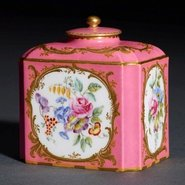 Image: Sèvres (Tea canister and cover) 1759-1760 , Art Gallery of New South Wales