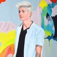 Image: Kim Leutwyler Heyman (detail), Archibald Prize 2017 finalist
