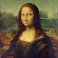 Image: Leonardo da Vinci Mona Lisa – Portrait of Lisa Gherardini, wife of Francesco del Giocondo c. 1503–19 (detail) Louvre Museum, Paris, France