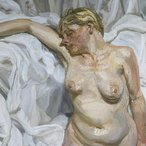 Image: Lucian Freud Standing by the rags 1988–89 (detail), oil paint on canvas, 168.9 × 138.4 cm, Tate: Purchased with assistance from the Art Fund, the Friends of the Tate Gallery and anonymous donors 1990. © Lucian Freud Archive/Bridgeman Images. Image © Tate, London 2016