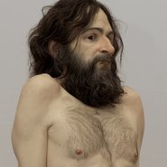 Image: Ron Mueck Wild man 2005 (detail), mixed media, 285 × 161.9 × 108 cm, Tate: Artist Rooms, acquired jointly with the National Galleries of Scotland through The d'Offay Donation with assistance from the National Heritage Memorial Fund and the Art Fund 2008 © Ron Mueck. Photo: Tate/NPG Scotland, Marcus Leith. Image © Tate, London 2016