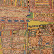 Image: Nänyin' Maymuru Djarrakpi 1947 (detail), lumber crayon on butchers paper, R M and C H Berndt Collection, Berndt Museum of Anthropology, University of WA, Perth © Estate of Nänyin'  Maymuru