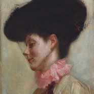 Image: Tom Roberts Portrait of Florence c1898 (detail), Art Gallery of New South Wales