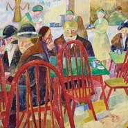 Image: Grace Cossington Smith The Lacquer Room (detail), Art Gallery of New South Wales © Estate of Grace Cossington Smith